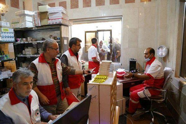 اعلام اسامی درمانگاه های هلال احمر در عراق برای اربعین
