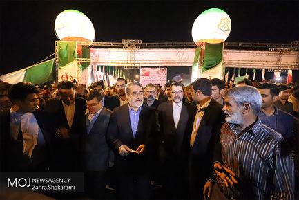 افتتاح پروژه های شهری بندرعباس با حضور وزیر کشور