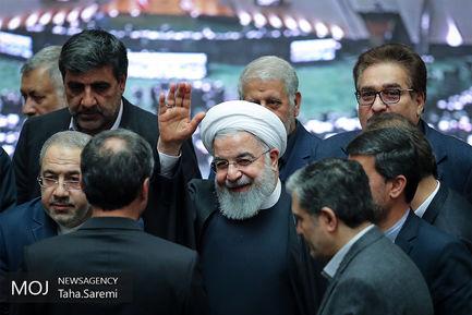 جلسه رای اعتماد به وزیر پیشنهادی بهداشت با حضور رییس جمهوری/ روحانی