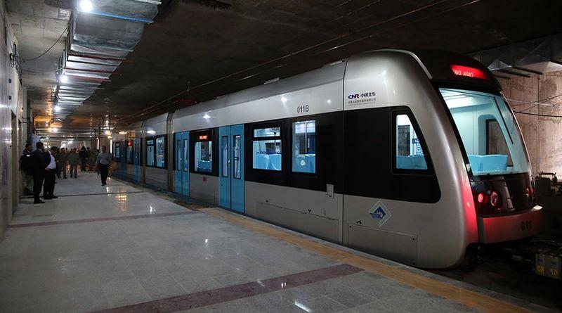 آغاز فعالیت بخشی از متروی اصفهان