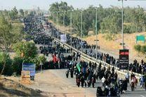 خروج بیش از 50 هزار زائر اربعین از مرز خسروی کرمانشاه