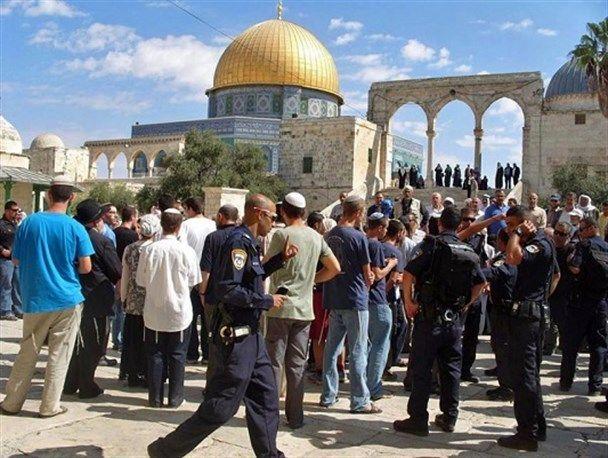 تعرض شهرک نشینان صهیونیستی به مسجدالاقصی تشدید یافت