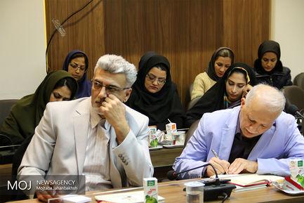 نشست خبری جشنواره ملی فیلم کوتاه حسنات در اصفهان