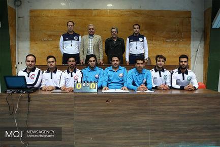 دیدار تیم های والیبال سایپا و شهرداری ارومیه