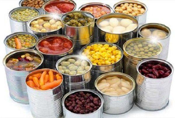 مصرف غذاهای کنسروی تاثیر منفی بر عملکرد دستگاه گوارش انسان دارد
