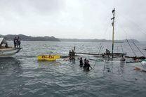 واژگونی 3 قایق در فیلیپین، جان 31 نفر را گرفت