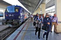 بیست و چهارمین قطار گردشگری خارجی وارد اصفهان شد