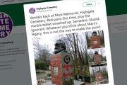 تعرض به مقبره کارل مارکس در لندن