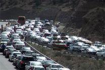 ترافیک در آزادراه تهران -کرج نیمه سنگین است