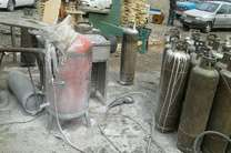 تهدید به انفجار و آتش زدن کپسول های LPG در اهواز