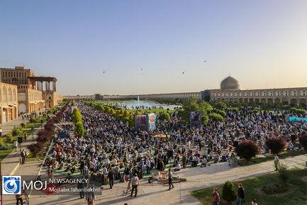 اقامه نماز عید سعید فطر در اصفهان