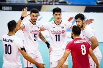 صعود تیم ملی والیبال ایران  به فینال آسیا