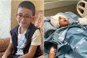 کودک فلسطینی با شلیک نظامیان صهیونیست، نابینا شد