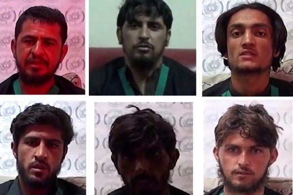 دستگیری یک گروه 6 نفری انتحاری در افغانستان