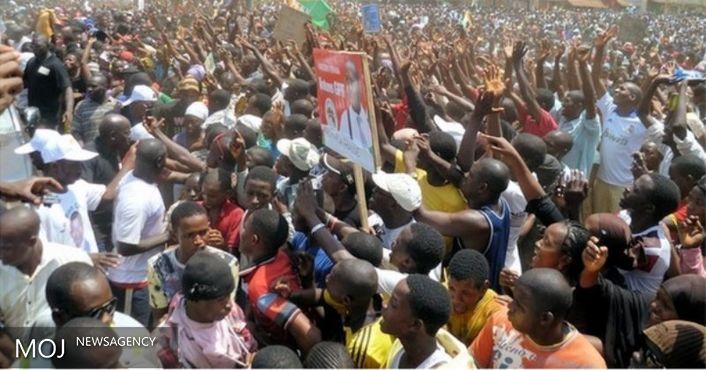 تظاهرات گسترده علیه دولت گینه