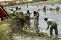 سراب نیلوفر و تالاب هشیلان از زبالهها پاکسازی شدند