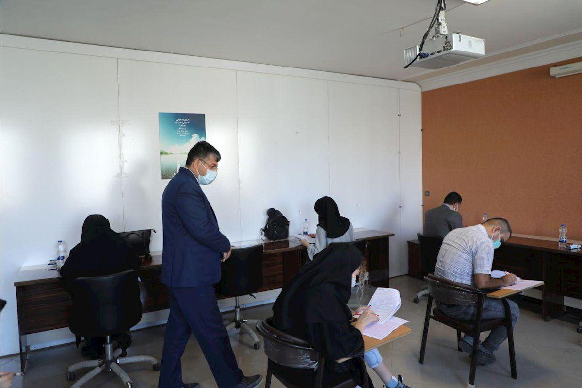 آزمون جامع دوره های کوتاه مدت گردشگری استان اردبیل برگزار شد