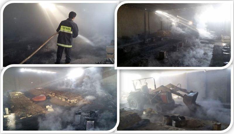 ۱۲ چاه غیر مجاز تولید زغال چوب در خمینی شهر تخریب شد