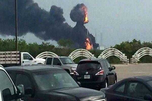 انفجار سکوی پرتاب ماهواره اسرائیلی در فلوریدا