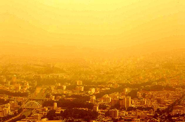 سایه ابر و غبار بر سر کرمانشاه