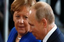 رایزنی تلفنی پوتین و مرکل در مورد اوکراین و بحران کرونا
