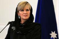 پیام تبریک وزیر خارجه استرالیا به روحانی