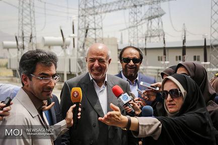 مراسم+افتتاح+پروژه+های+برق+منطقه-ای+تهران