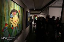 پایان زود هنگام یک نمایشگاه جنجالی/ نمایشگاه آثار نقاشی تهمینه میلانی تعطیل شد