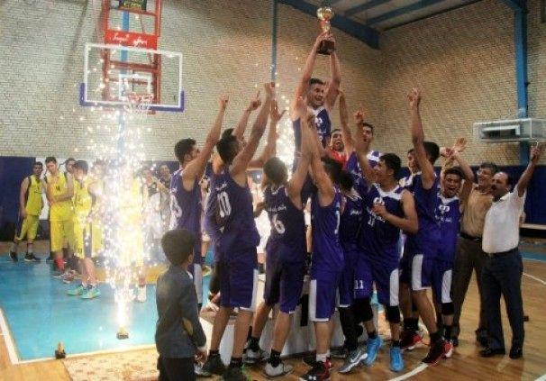 تیم هرمزگان؛ قهرمان مسابقات بسکتبال جوانان کشور شد
