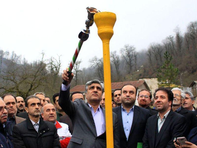461 خانوار روستایی رضوانشهر و ماسال از نعمت گاز برخوردار شدند