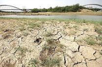 بارندگی کمتر از حد نرمال در پاییز  و خشکسالی ادامه دار خوزستان