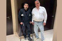 علیرضا دبیر با رئیس اتحادیه جهانی کشتی دیدار و گفتگو کرد