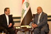 دیدار و رایزنی عراقچی با نخست وزیر عراق در بغداد