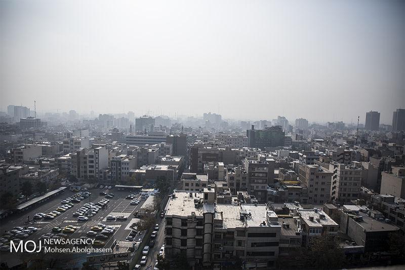 کیفیت هوای تهران در 18 آبان 98 ناسالم است