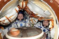 بازگشت دو فضانورد از ایستگاه فضایی