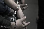 زورگیر طلای بچگانه در خزانه دستگیر شد