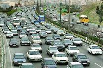 کاهش 4.4درصدی تردد شهری/ ترافیک در محورهای اصلی روان است