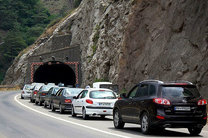 ترافیک محور کندوان و هراز سنگین و نیمه سنگین است