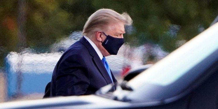 رئیسجمهور آمریکا مشکل تنفسی پیدا کرده است