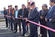 15 کیلومتر از پرحادثه ترین محورهای پلیس راه اصفهان - تهران افتتاح شد