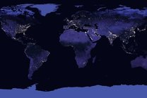 واضح ترین نقشه زمین در شب منتشر شد