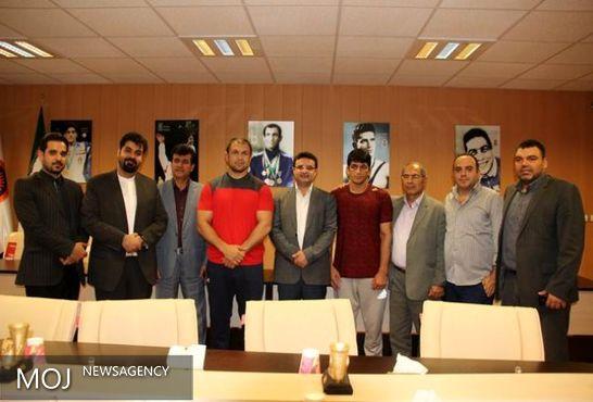 مراسم بدرقه ورزشکاران المپیک مازندران برگزار شد