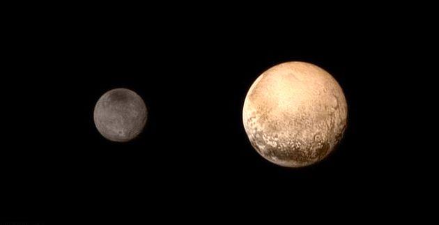 انتشار فیلمهای جدید ناسا از سیاره پلوتو و بزرگترین قمر آن